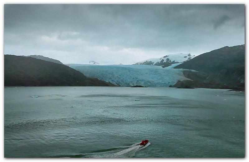 Brujo Glacier. Magellan Strait. Chile