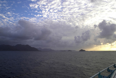 Chilean Fjords ~ Beautiful Skies
