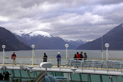 Chilean Fjords as seen from the ship