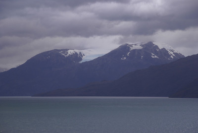 Chilean Fjords ~ First Glacier