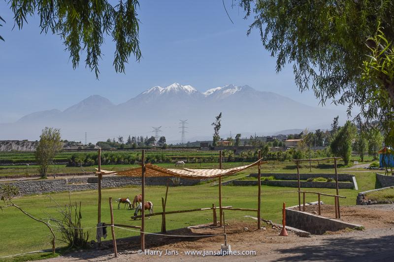 Volcan Chachani (6057m)