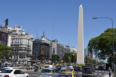 Obelisk of Buenos Aires, build in 1936 and 67,5m