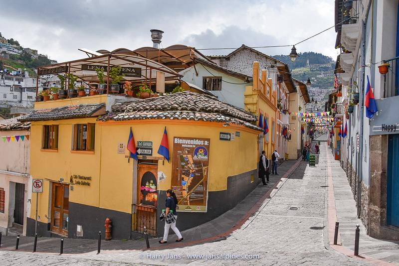Calle de la Ronda, Quito