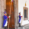 guards at Palacio de Carondelet, Quito