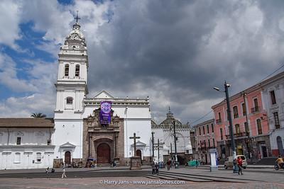 La Iglesia de Santo Domingo, Quito