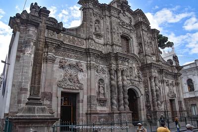 Iglesia de La Compania de Jesus, Quito