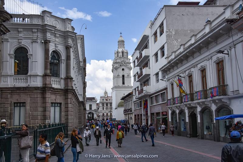 center of Quito