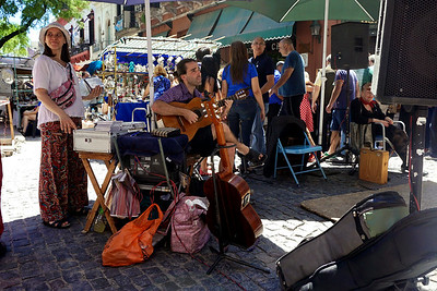 Street Market Guitarist