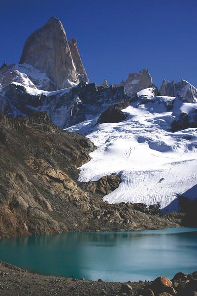 Laguna de los Tres. April 2017