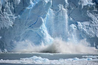 Perito Mereno Glacier Calving