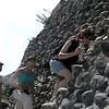 Celia, Matt & Jill- climbing Xinantunich