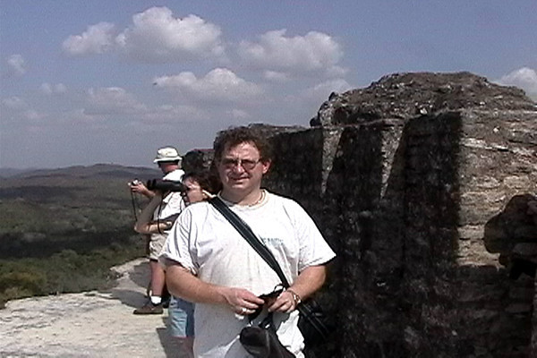 Barry on top of Xinantunich