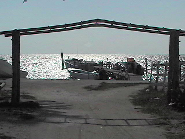 Caye Caulker jetty