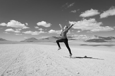 Utter Joy on the Salt Flats of Bolivia