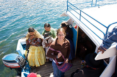 ferry crossing on route to la paz