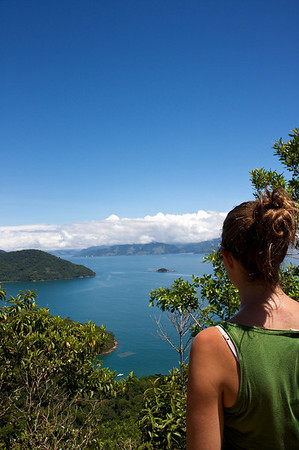 hike to lopes mendez, ilha grande