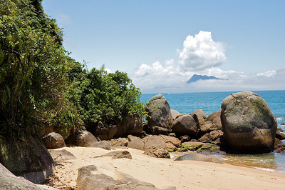 praia palmas, ilha grande