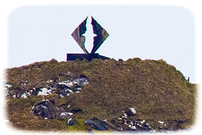 Cape Horn - Albatross Monument to those that lost their lives rounding the horn