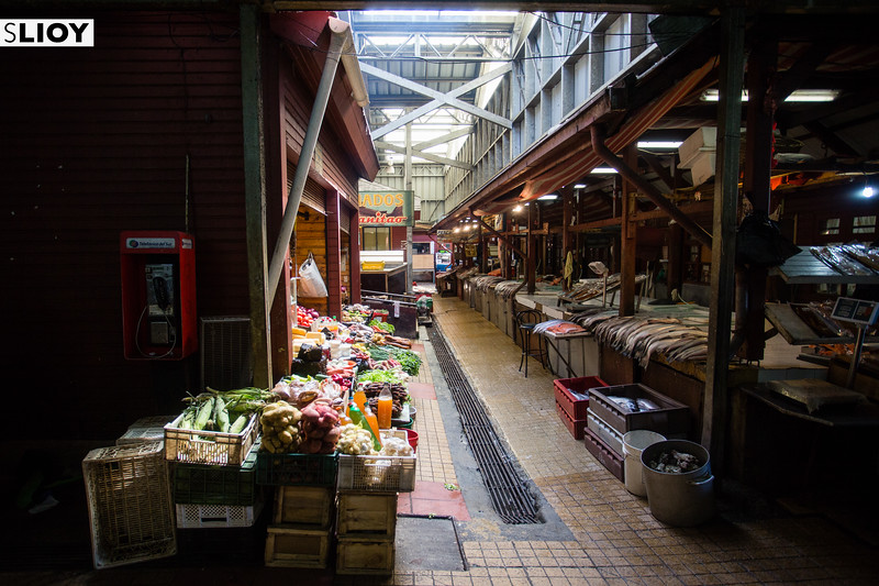 The central market of Puerto Montt, the gateway into the northern half of Chilean Patagonia.