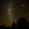 Stars over the El Volcan campsite in Chilean Patagonia's Parque Pumalin.