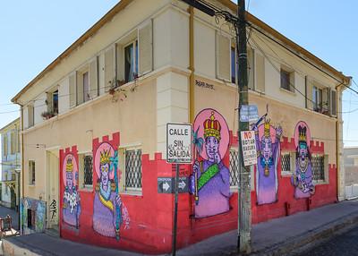 Street Grafitti ... Valparaiso