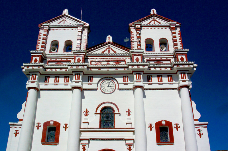 Iglesia de Nuestra Senora del Carmen. July 2017