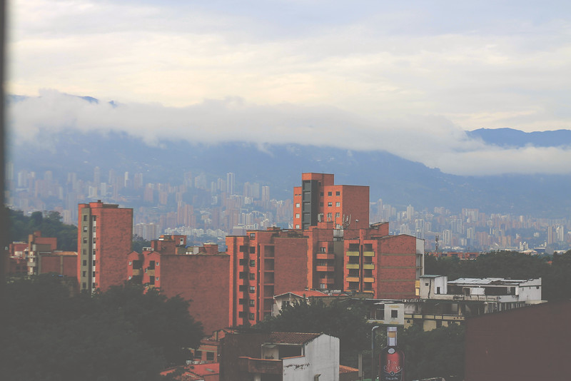 View from our Laureles apartment. August 2017