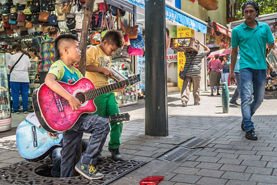 The Buskers, Medellin, Colombia