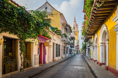 Old town ...Cartagena ... Colombia