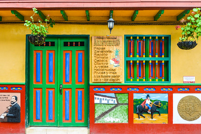 Colourful Guatape, Colombia