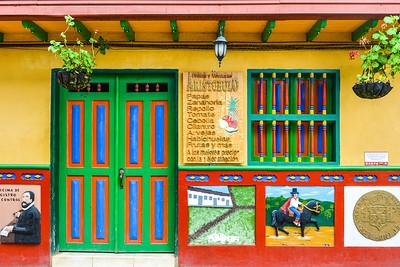Colourful Guatape, Colombia