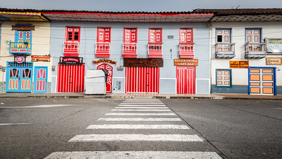 Street crossing ... Filandia ... Colombia