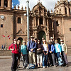 Our group at Plaza de Armas, Cuzco, July 2012