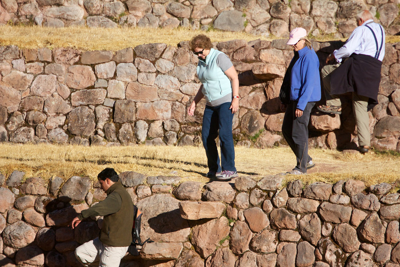 Ruins at Moray, Sacred Valley, Peru<br /> Copyright 2012, Tom Farmer