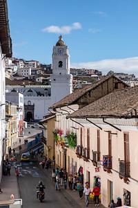 Street to Iglesia de la Merced