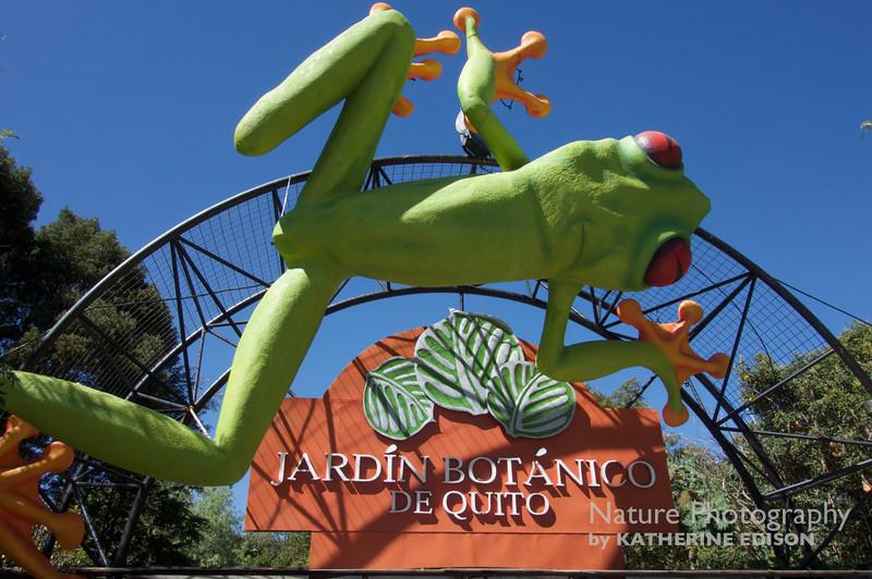 Jardint Botanico de Quito