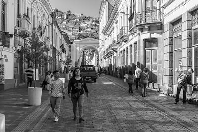 Historic Quito, Ecuador, 2018