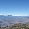 Panorama of Quito on a Clear Day