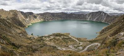 Luguna Quilatoa, Cotopaxi Region, Ecuador