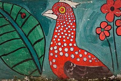 Bird Mural, Mindo