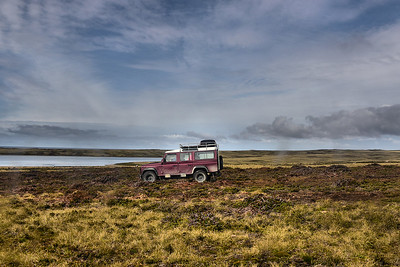 Landrover to Bluff Cove