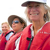 Doris, Barbara, and Carole Aboard the Panga, Galapagos