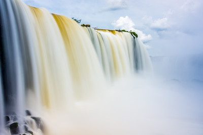 Iguazú Falls up close