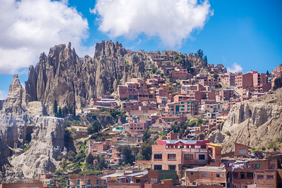 The Rugged Landscape of La Paz