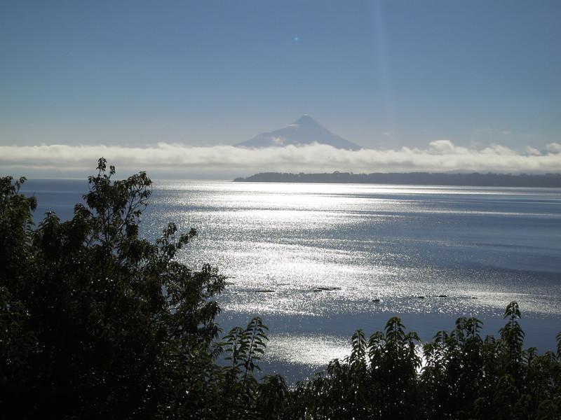 Orsono volcano over Lago Llanquihue, in Puerto Varas, Chile