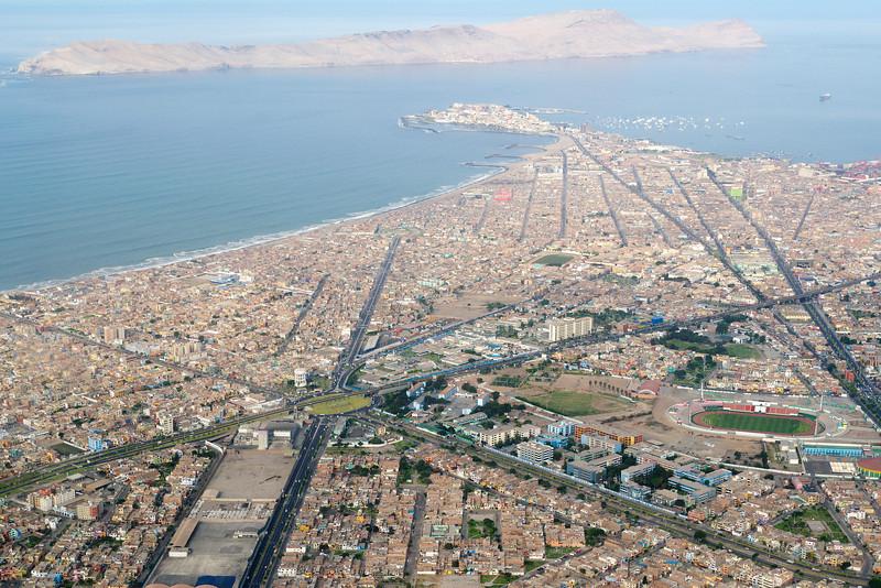 Airborne over Lima