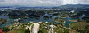 View from the top of La Piedra, Guatape, Colombia