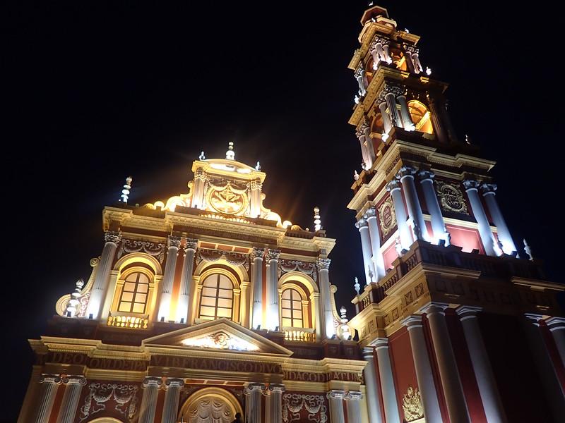 Church of San Francisco in Salta.