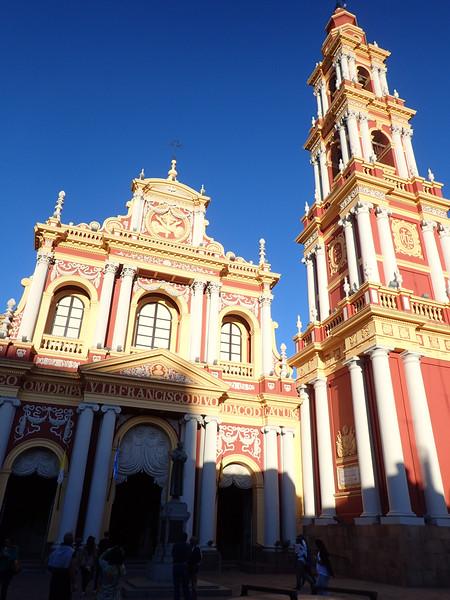 Iglesia de San Francisco, in Salta