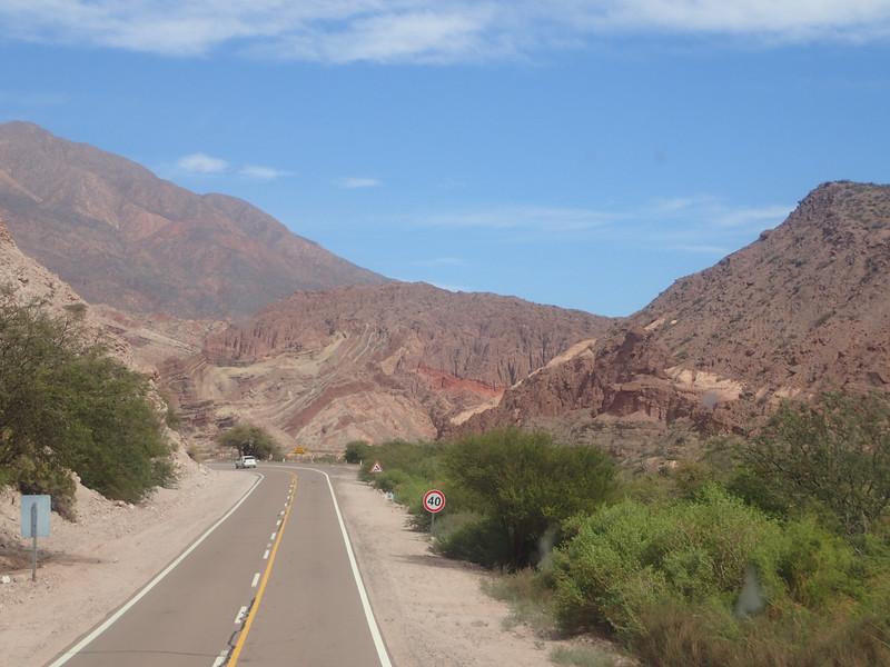 Quebrada de las Conchas is also known as the Quebrada de Cafayate